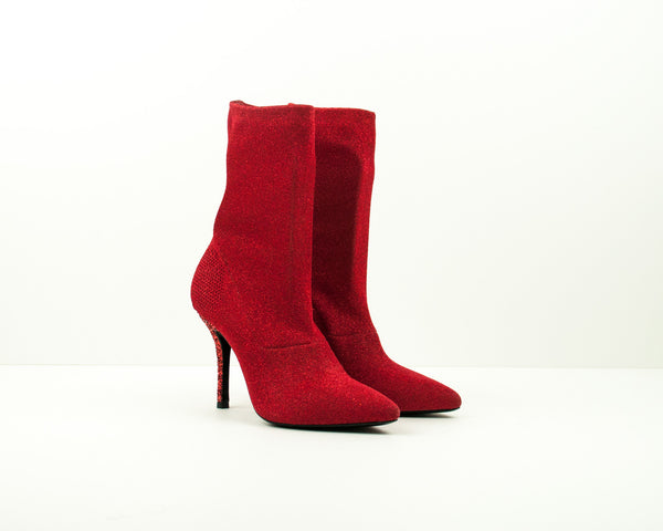 STRATEGIA - SOCK ANKLE BOOTS - A3766