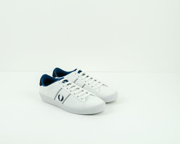 ZAPATILLA - FRED PERRY - B2 303 TENNIS SHOE 2 CANVAS SNOW WHITE