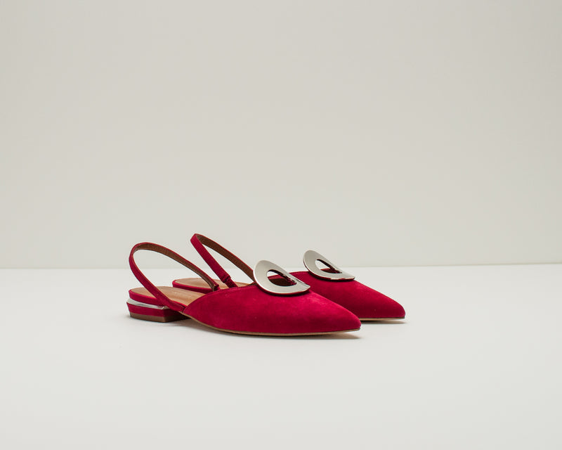SEIALE - CUT OUT SHOES - BALLON RED