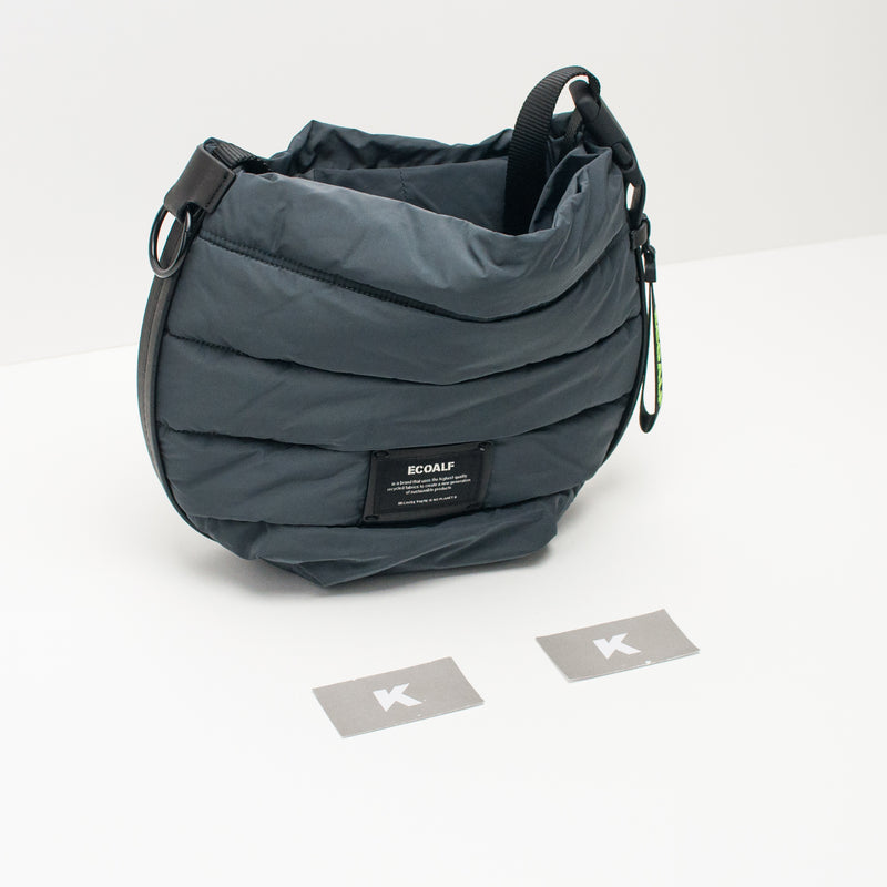 BOLSO - ECOALF - MICHI SHOULDER BAG 303 ASPHALT