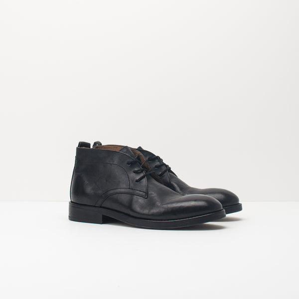 BOTA - HUDSON - DARTMOOR LEATHER NEGRO