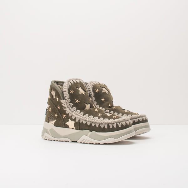 BOTA - MOU - 201009MIL ESKIMO TRAINER LEATHER STARS