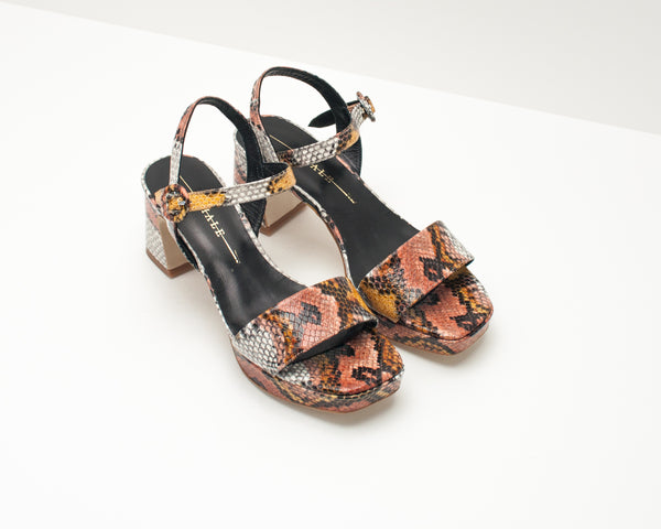 SEIALE - SANDALS - COUCE CAMEL