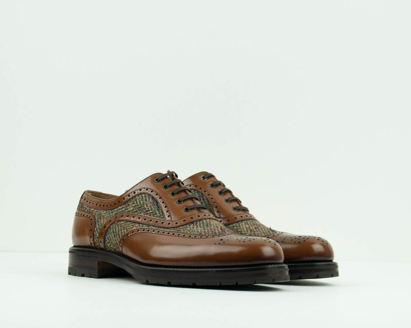 ZAPATO - GEORGE'S - OXFORD TWEED