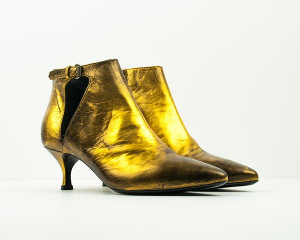 STRATEGIA - METALLIC BOOTIES - PE4927