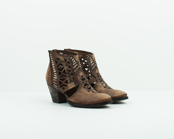 VERACRUZ - HIGH HEEL LEATHER ANKLE BOOTS - RAVEL18