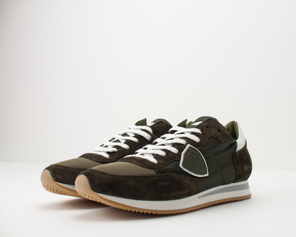 PHILIPPE MODEL - TRAINERS - TRLU 1115 TROPEZ L U BASIC MILITAIRE