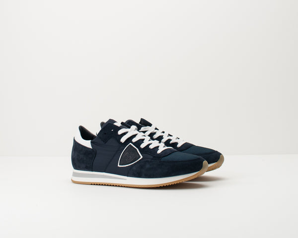 PHILIPPE MODEL - SNEAKERS - TRLU 1117 TROPEZ L U BASIC BLEU