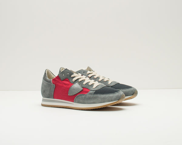 PHILIPPE MODEL - SNEAKERS - TRLU RX12 TROPEZ L U RUN AVION ROUGE
