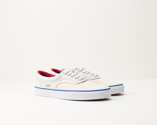 ZAPATILLA - VANS - ERA OUTSIDE IN NATURAL STV NAVY RED VA38FRVME