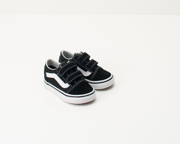 VANS - KID'S SHOES - TD OLD SKOOL V BLACK VN000D3YBLK1