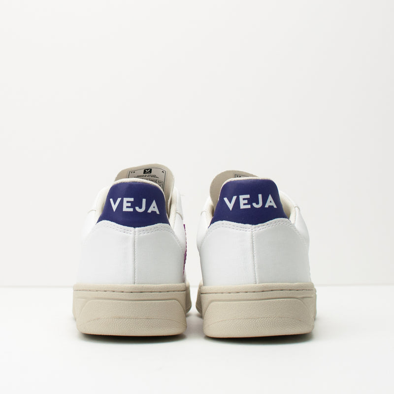 ZAPATILLA - VEJA V-10 CWL WHITE ULTRAVIOLET PURPLE VX072536