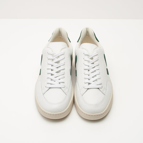 ZAPATILLA - VEJA - V12 LEATHER EXTRA WHITE CYPRUS XD022336
