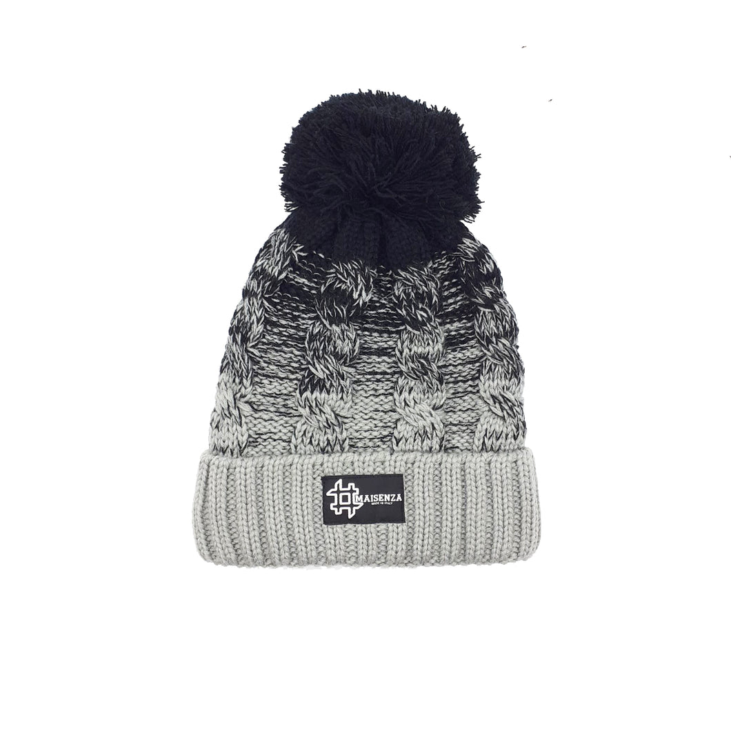 Pom Pom FURGREY Winter Hat