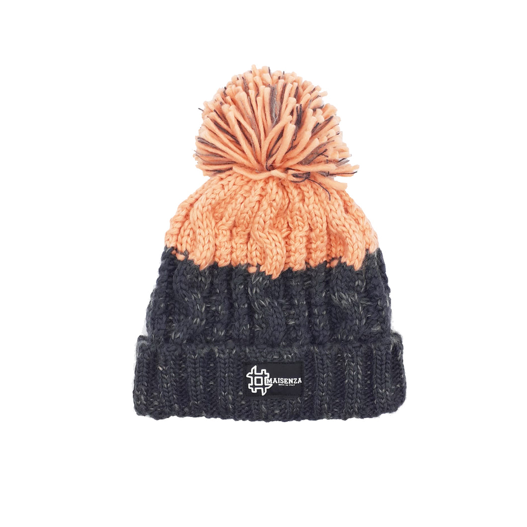 Pom Pom FURPINK Winter Hat