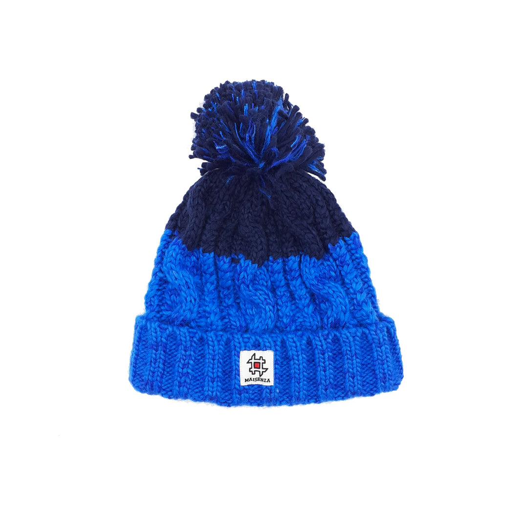 Pom Pom FURTOTALBLUE Winter Hat