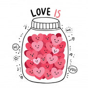"T-shirt ""Love is"""