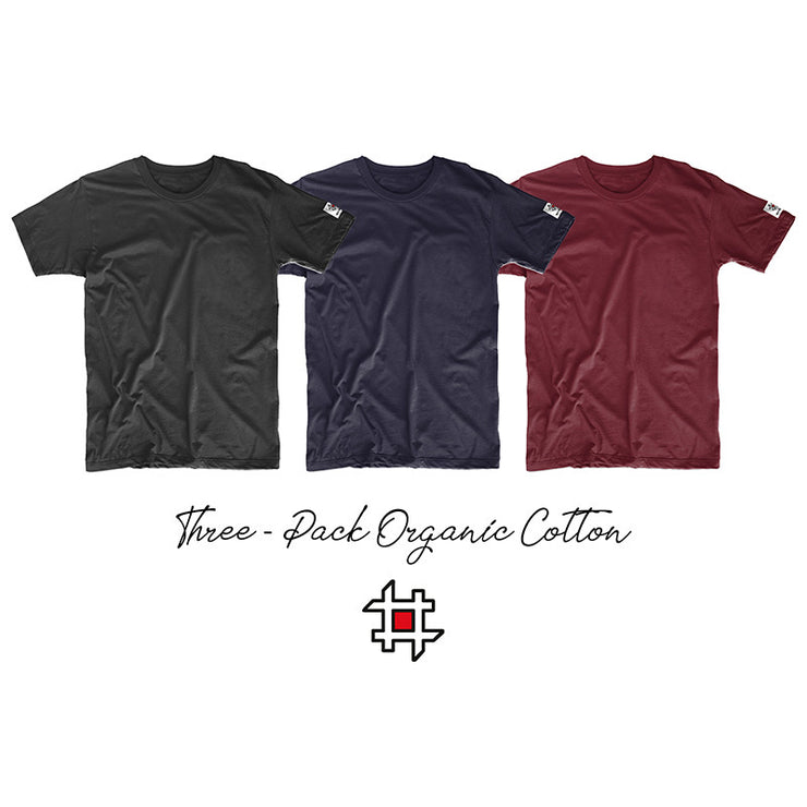 Three- Pack Organic Cotton