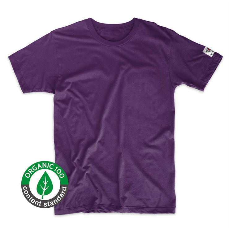 T-shirt Minimal Purple