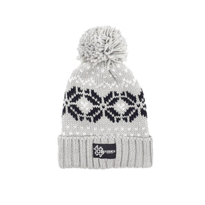 Pom Pom FANTASYGREY Winter Hat