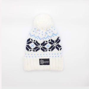Pom Pom FANTASYWHITE Winter Hat