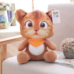 Chat en Peluche Comme un Vrai Orange