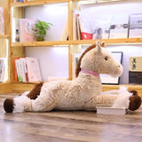 Peluche Cheval Taille Réelle