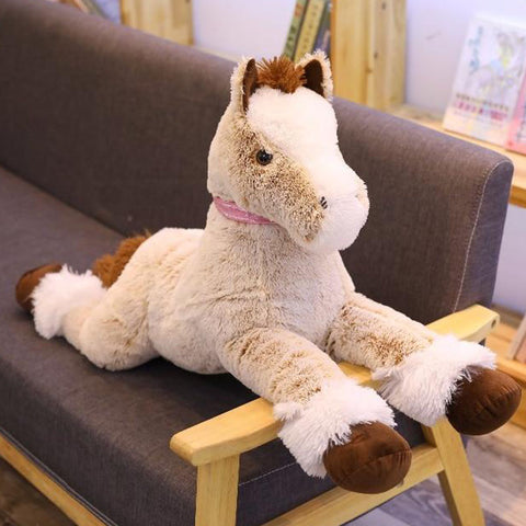 Cheval Taille Réelle Peluche | Peluche Royaume