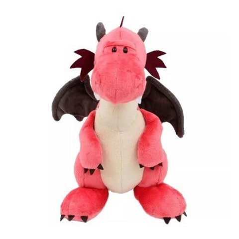 Peluche Dragon Rose | Peluche Royaume