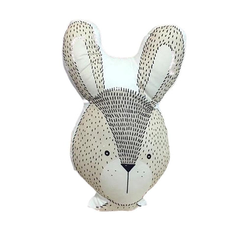 Peluche Lapin Coussin | Peluche Royaume