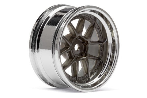 DY-CHAMPION 26MM WHEEL (CHROME/BRONZE/6MM) 2 STK