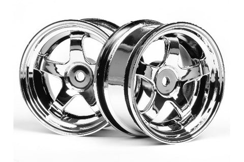 WORK MEISTER S1 WHEEL 26MM CHROME (Flere OFFSET)