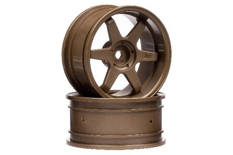 TE37 WHEEL 26MM BRONZE (6MM OFFSET/2STK)