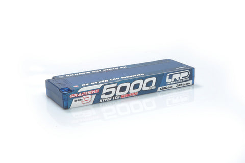 LRP Graphene-3 Hyper LCG Modified 5000mAh 7.6V 2S 120C/60C HV LiPo (5mm, 215g)