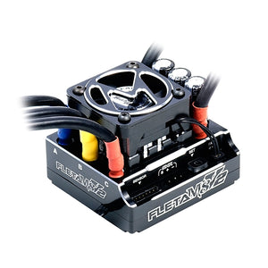 Muchmore FLETA M8 V2 Competition 1/8th Scale Brushless ESC 180A Sort