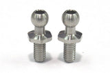 Reve D SPM Titanium Rod End Ball M (Diameter 4.3mm, Screw Length 6.0mm, 2pcs)