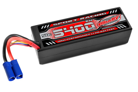 Corally Power Racing 5400mAh 11.1V 3S 50C LiPo (EC-5)