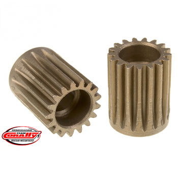CORALLY 48 DP PINION SHORT HARDENED STEEL 17 TEETH 5mm