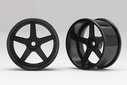 Racing Performer Drift Wheel 5 spoke 01 (6mm Offset·Black·2pcs)
