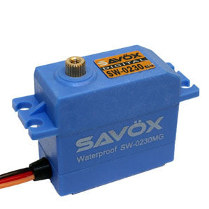SAVOX WATERPROOF 'HIGH VOLTAGE' DIGITAL SERVO 8KG/0.13s@7.4V