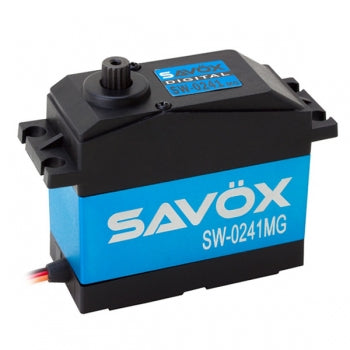 SAVOX VANDTÆT JUMBO 'HIGH VOLTAGE' DIGITAL SERVO 40KG/0.17s@7.4V