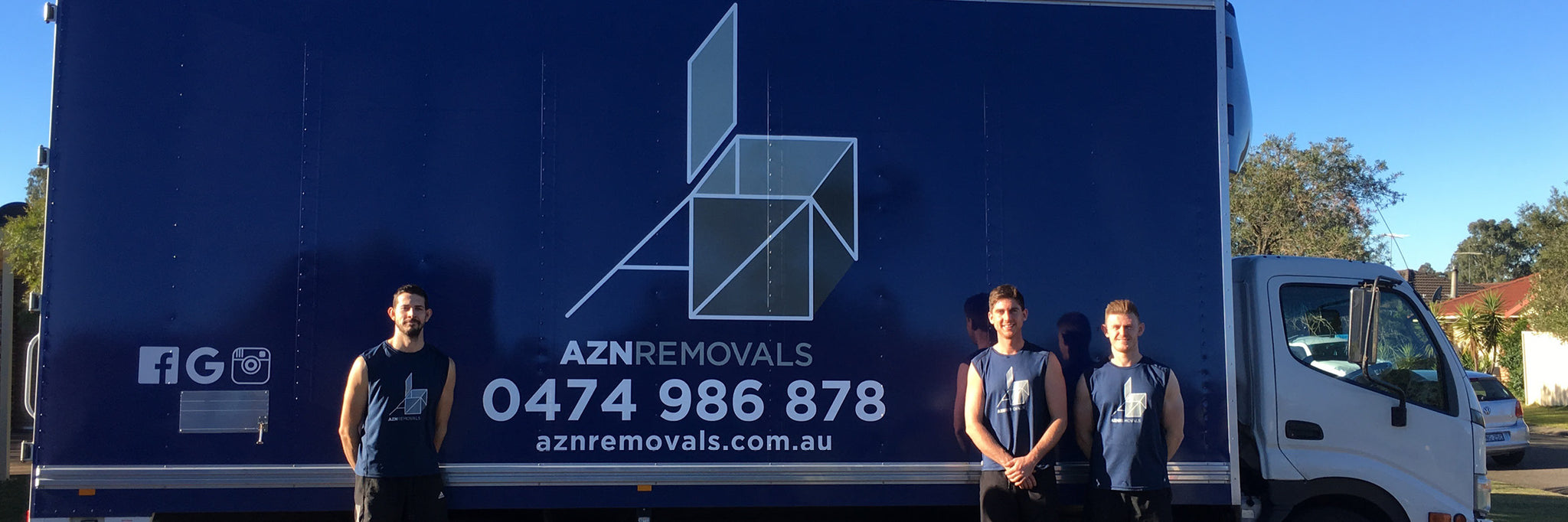 AZN Removals - Contact us