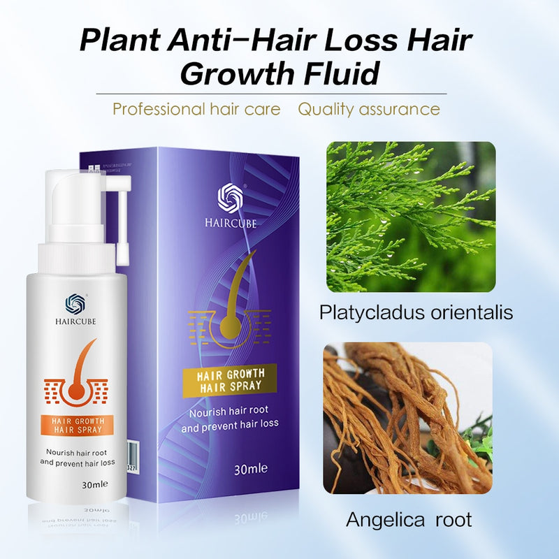 HAIRCUBE Hair Growth Products Essence Oil Hair Care Hair Treatment Hair Growth Serum Organic Anti Hair Loss