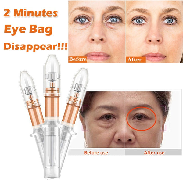 2 Minutes Instant Lifting Liquid Pump Eye Cream Anti Puffiness Wrinkles - Beaut-Fit.com