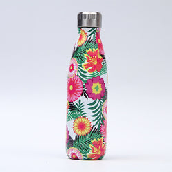Creative Floral Thermos Flask Stainless Steel Water Bottle Leak Proof - Beaut-Fit.com