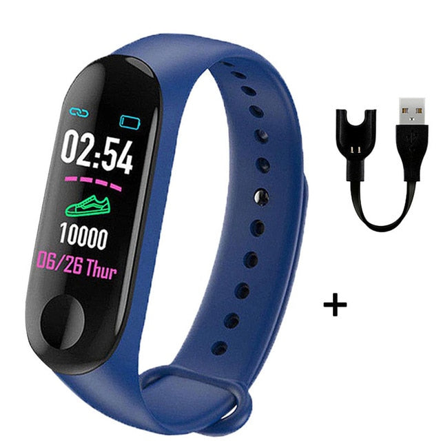2020 Fitness Smart Bracelet Watch Band M3 Tracker - Beaut-Fit.com
