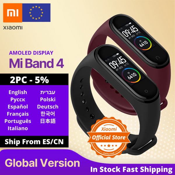 Global Version Xiaomi Mi Band 4 Smart Watch Heart Rate Fitness Activity Tracker - Beaut-Fit.com
