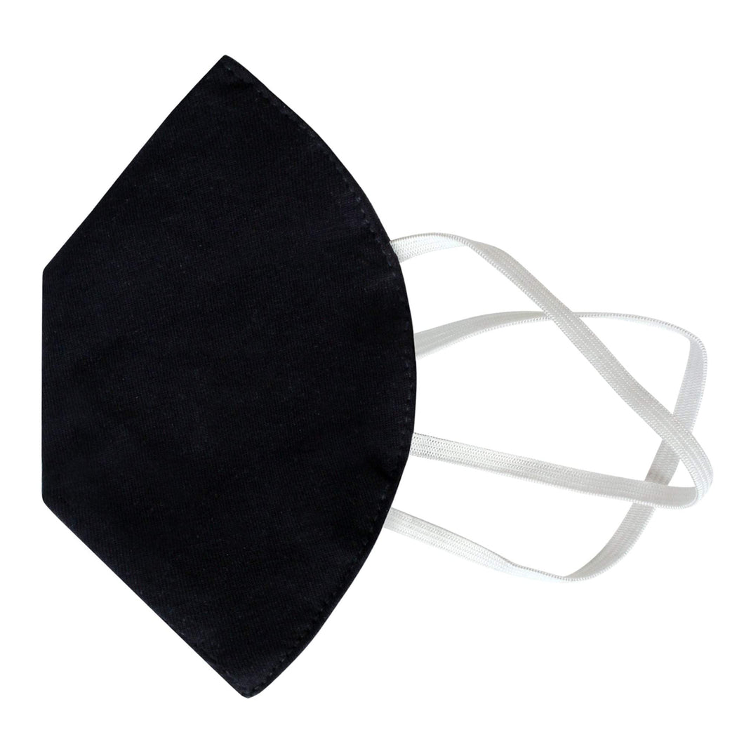 3 Layered Melt-blown Filter Face mask in Knitted Fabric Protective Face Masks Nomarchshop.com Black