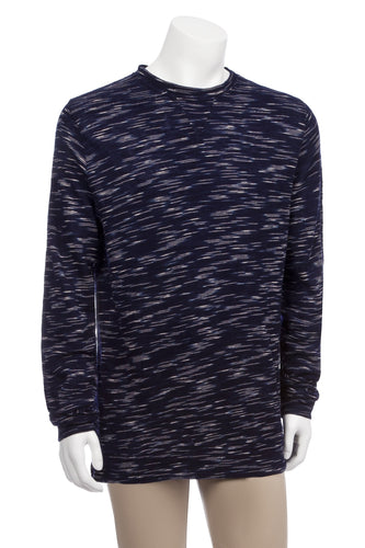 Textured Fabric Space dyed Crew in Long Sleeves - Nomarchshop.com