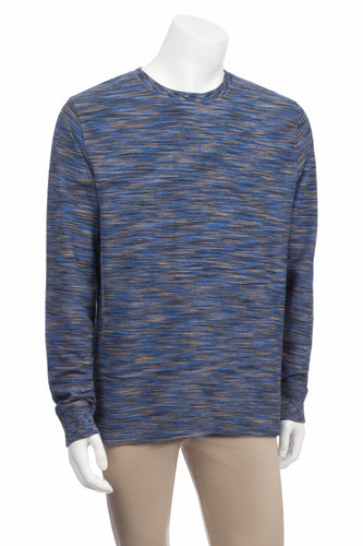 Light French Terry Space Dyed Crew in Long Sleeves - Nomarchshop.com